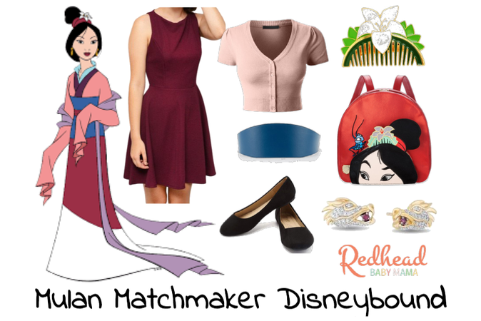 Mulan Matchmaker Disneybound