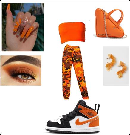 Orange spring time