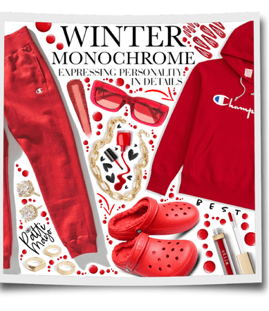 RED WINTER MONOCHROME ❤️❤️