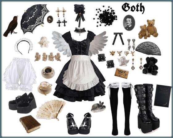 🖤gothic lolita coord🖤
