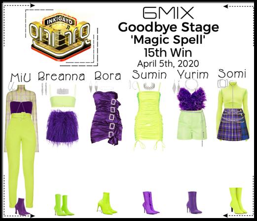 《6mix》Inkigayo Goodbye Stage 'Magic Spell'