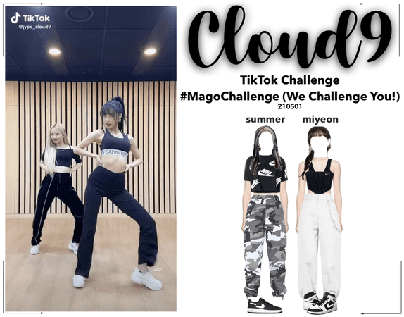 Cloud9 (구름아홉) | Mago TikTok Challenge