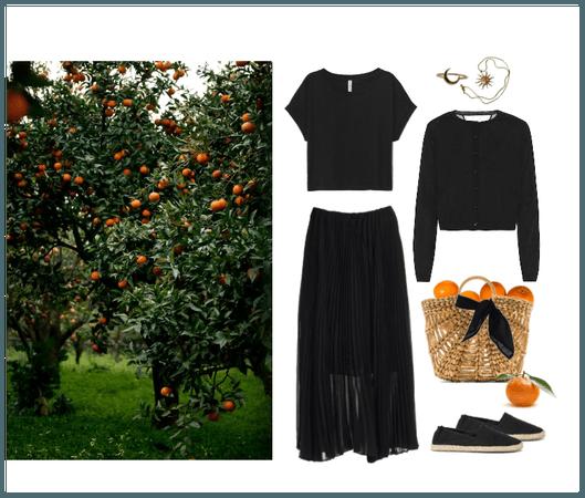 Picnic in the Sicilian Garden