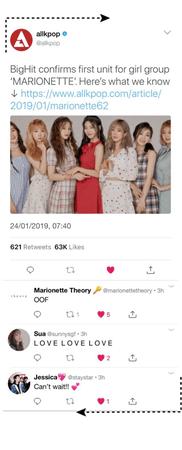 {MARIONETTE} All Kpop Twitter Update