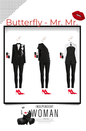 Butterfly - Mr. Mr. outfit