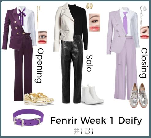 #TBT Fenrir Week 1 Deify