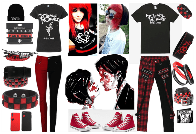 Emo Couple: My Chemical Romance
