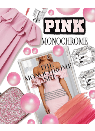 Pink Bubble Gum ^ALL PINK MONOCHROME ^