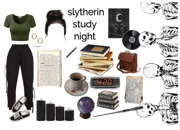 late slytherin study night