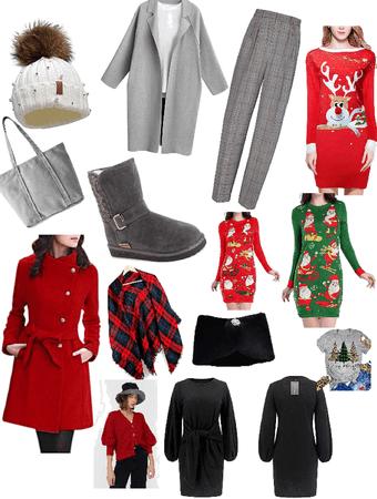 winter and Christmas