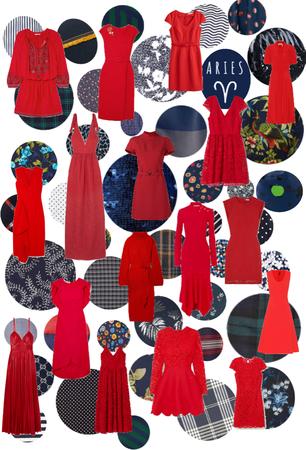 Dress to Impress; Red Dress Aries