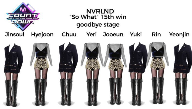 """NVRLND """"So What"""" 15th win goodbye stage"""