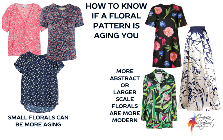 how to know if a floral pattern is aging you