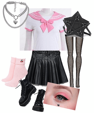 e girl sailor grunge