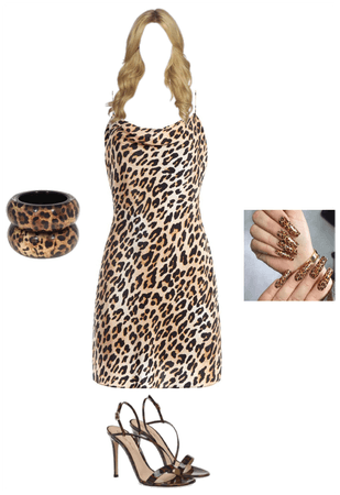Leopard Sexy Dress