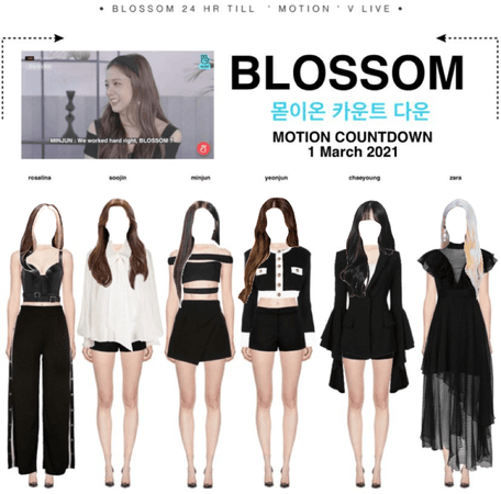BLOSSOM V LIVE — '𝙈𝙊𝙏𝙄𝙊𝙉 ' Countdown