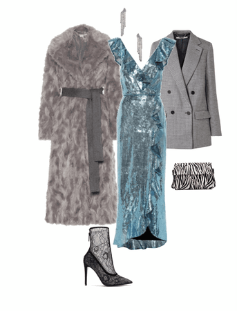 Xmas sparkling outfit