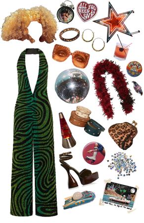 70s Disco Girl