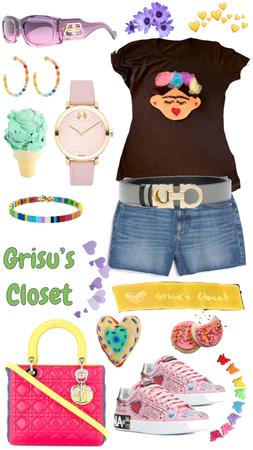 53 T-shirt handmade designed exclusive by Grisu's Closet