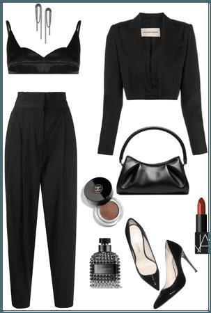 back all black