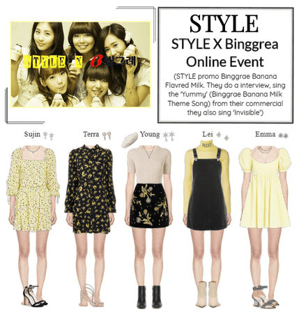 STYLE X Binggrae Online Event