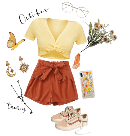 @cayleethewitch here's the outfit I made for the candy corn challenge thingy