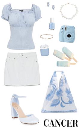 Spring/Summer Cancer Inspired Look