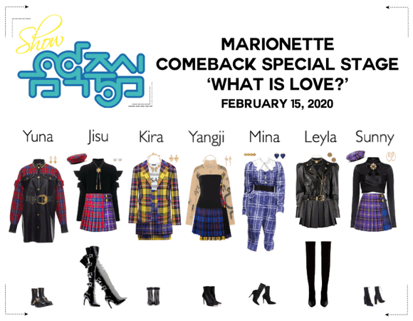 MARIONETTE (마리오네트)Show! Music Core Comeback Stage