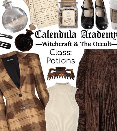 CALENDULA ACADEMY: Potions Class
