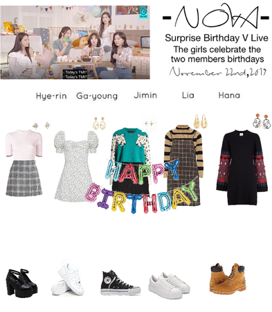 -NOVA- Surprise Birthday V Live