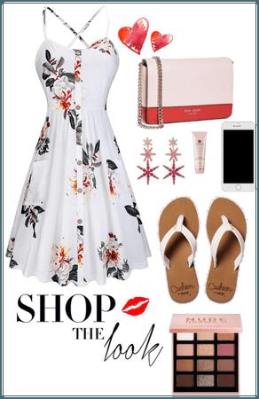 Simple summer dress inspired