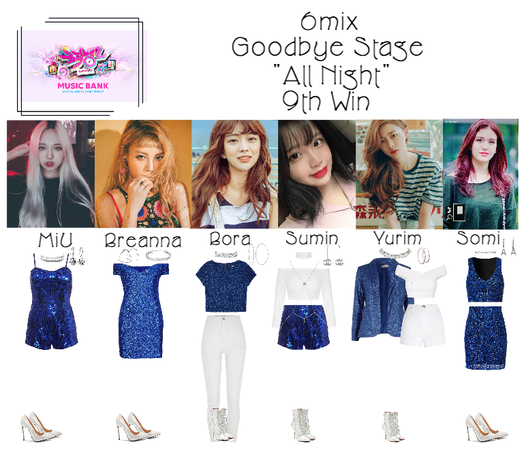 """《6mix》Music Bank Goodbye Stage """"All Night"""""""