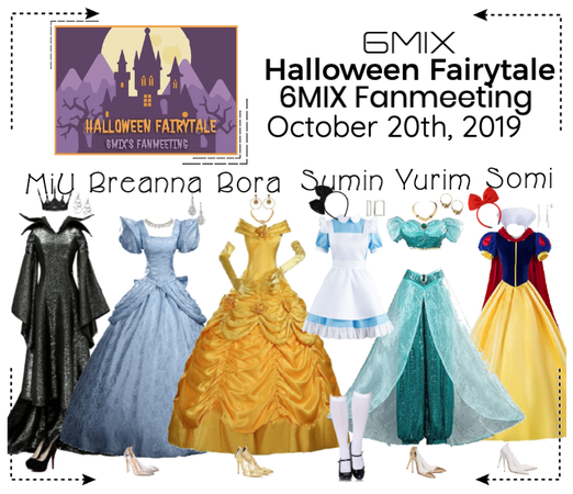 《6mix》Halloween Fairytale Fanmeeting