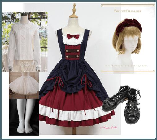 Snow White lolita coord