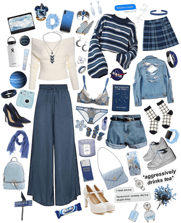 hogwarts fashion: ravenclaw