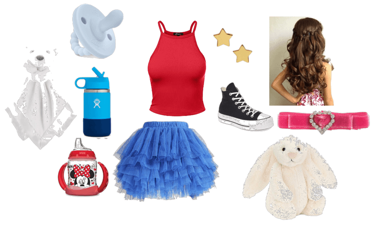 4 of July Littles Outfit
