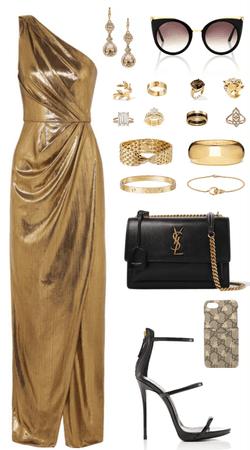 Donatella Versace Fashion Show Event