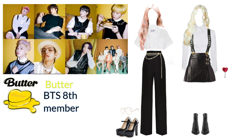 BTS Butter outfit