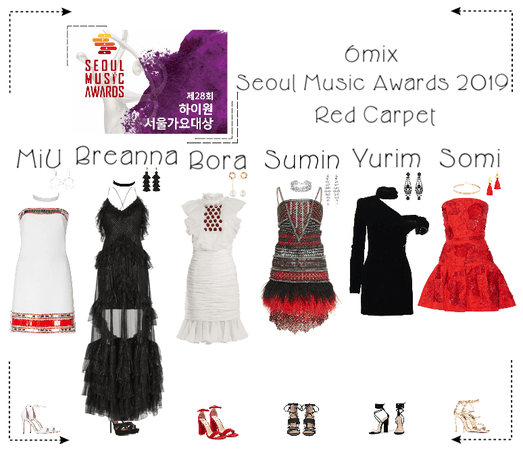 《6mix》Seoul Music Awards 2019 Red Carpet