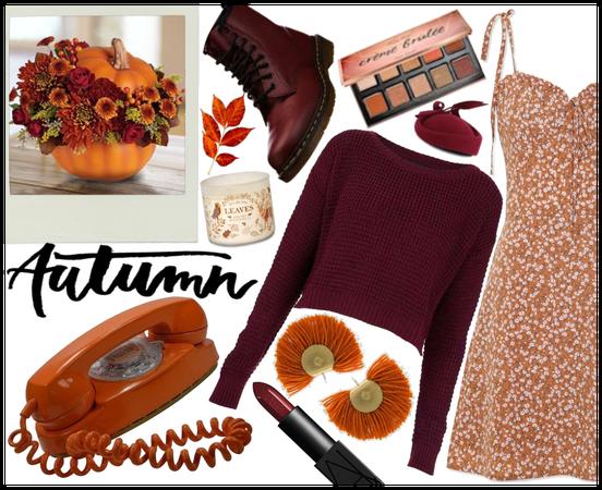 Floral Autumn Look (read comments)