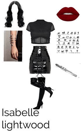 Isabelle lightwood outfit