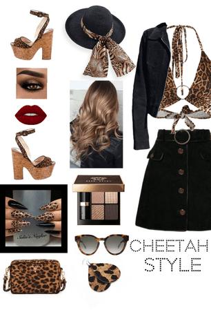 Cheetah style🐆🖤