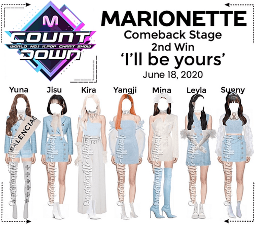 MARIONETTE (마리오네트) [M COUNTDOWN] Comeback Stage
