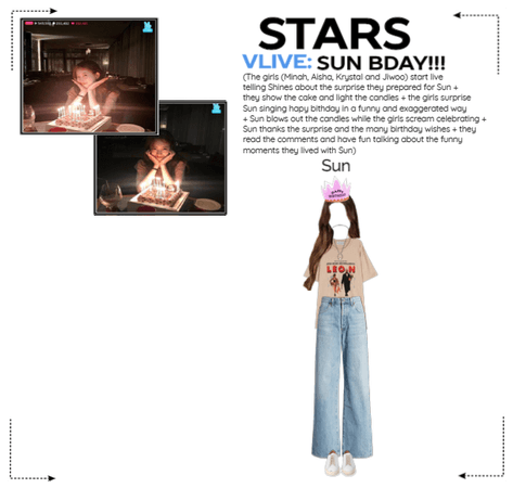 STARS   Vlive: Sun Bday!!!   200703
