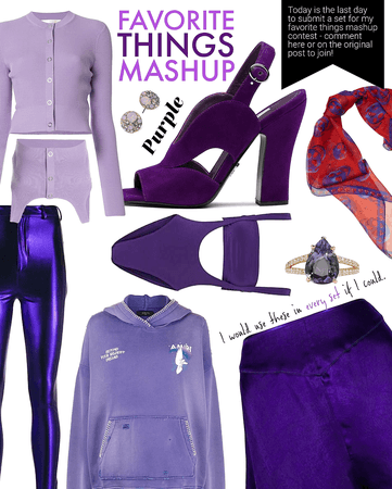 FAVORITE THINGS CONTEST @abbymae | Purple