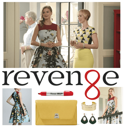 Revenge Inspired Outfit