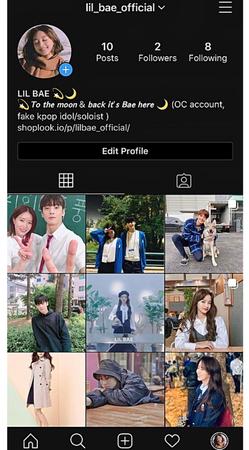 LIL BAE Instagram Account
