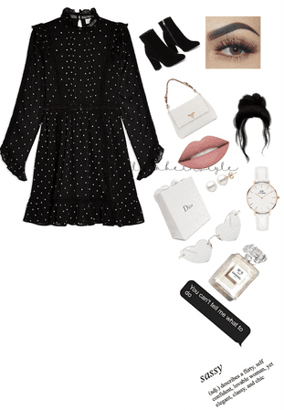 black and white classic look