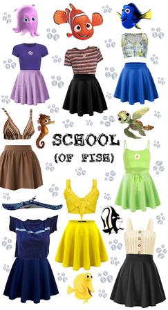 School (of Fish)