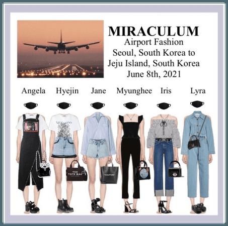 (미랔울움) MIRACULUM - [𝙈𝘾𝙈] Airport Fashion